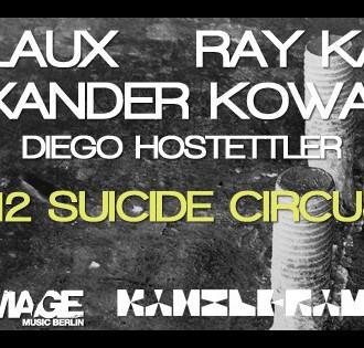 Ray Kajioka Live @ Damage vs Kanzleramt im Suicide Circus