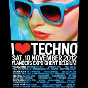DJ-Mix aus der Druck-Kammer: Dave Clarke @ I love Techno 2012