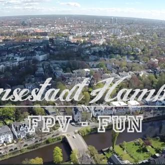 Hamburg von Oben – mit einer Drohne