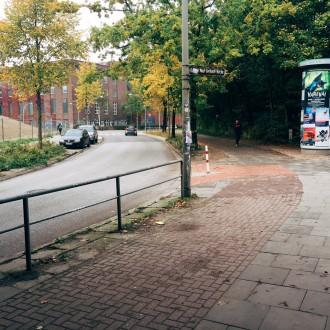 Hamburgs Verkehrspolitik in 2 Bildern