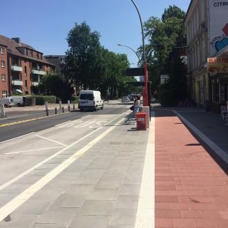 Verkehrsführung from Hell: neue Radwege in Hamburg